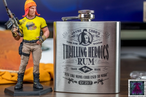 Thrilling Heroics Rum Hip Flask (2)