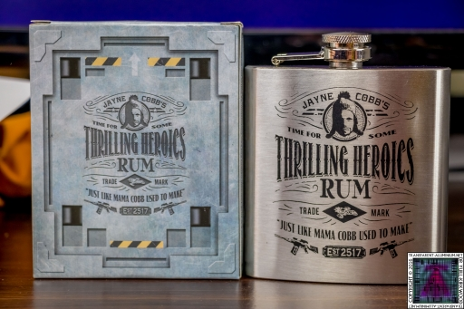 Thrilling Heroics Rum Hip Flask (3)