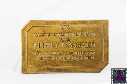 Firefly Dedication Plaque