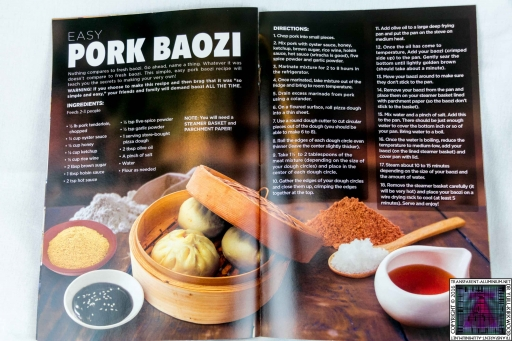 Pork Baozi Recipe