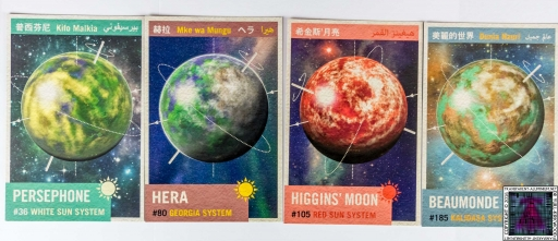 Firefly Interplanetary Flash Card Set (2)