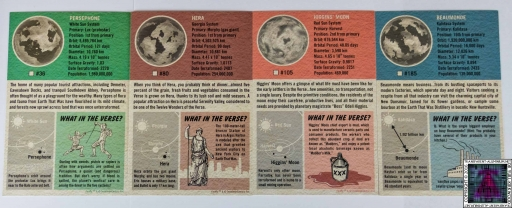 Firefly Interplanetary Flash Card Set (3)