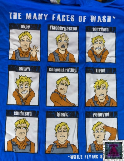 The Many Faces of Wash T-Shirt