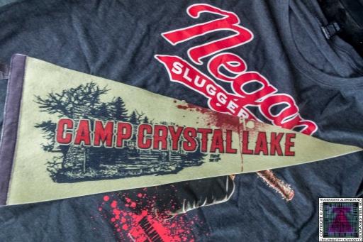 Camp Crystal Lake Flag
