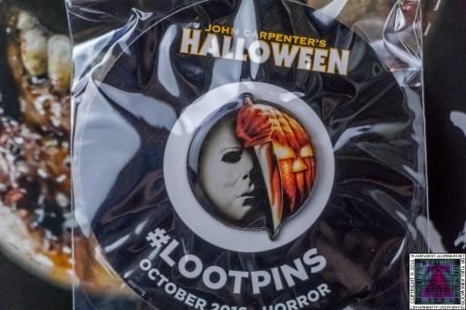 Loot Crate - October 2016 Horror Badge
