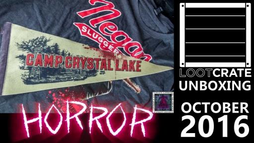 Loot Crate - October 2016 Horror thumb