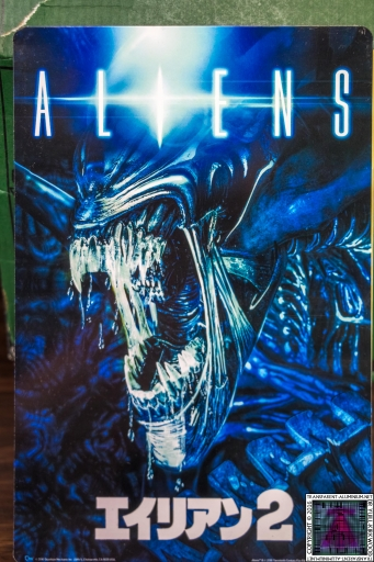Aliens Metal Art