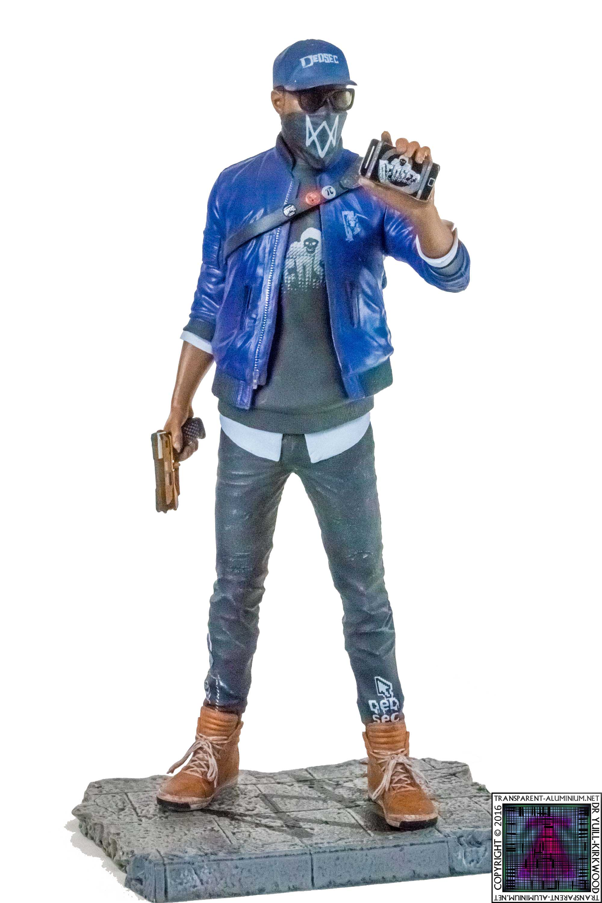 Watch Dogs  Marcus Statue