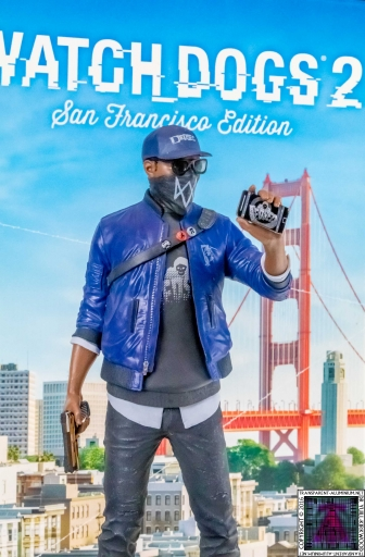 Watch Dogs 2 San Francisco Marcus Statue (1)