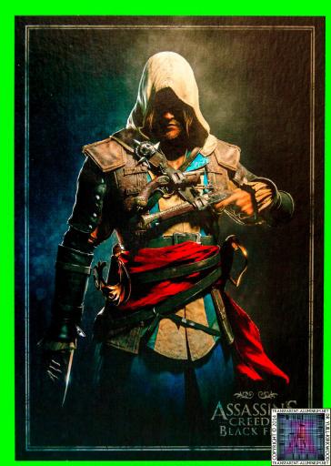 Assassins Creed IV Black Flag Buccaneer Edition Lithographs