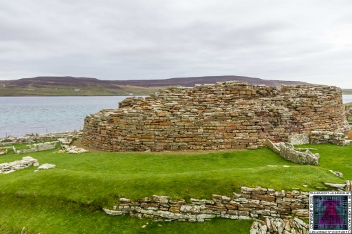 Orkney Broch of GuOrkney Broch of Gurnessrness (9)