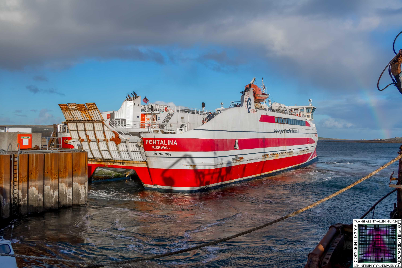Transparent Aluminium Docks To Orkney Transparent Aluminiumnet