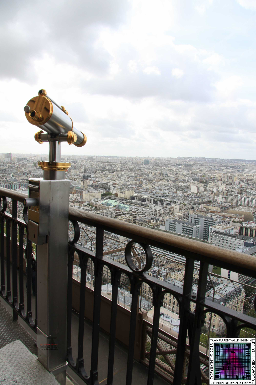 Transparent Aluminium Eiffel Tower 2nd Level Transparent Aluminiumnet