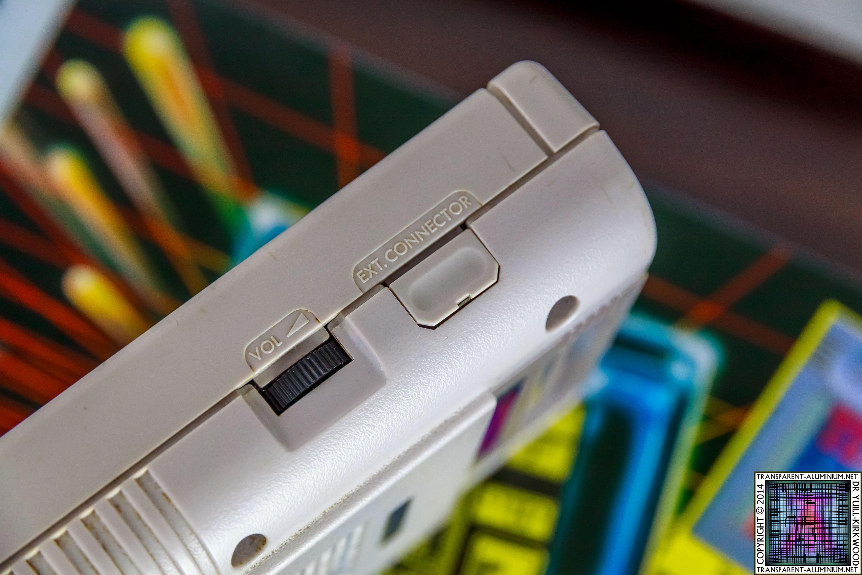 Transparent Aluminium Game Boy Transparent Aluminiumnet