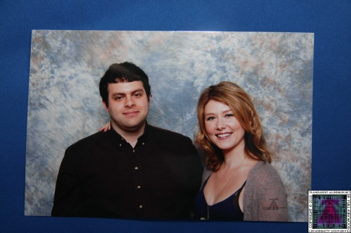 Me and Jewel Staite