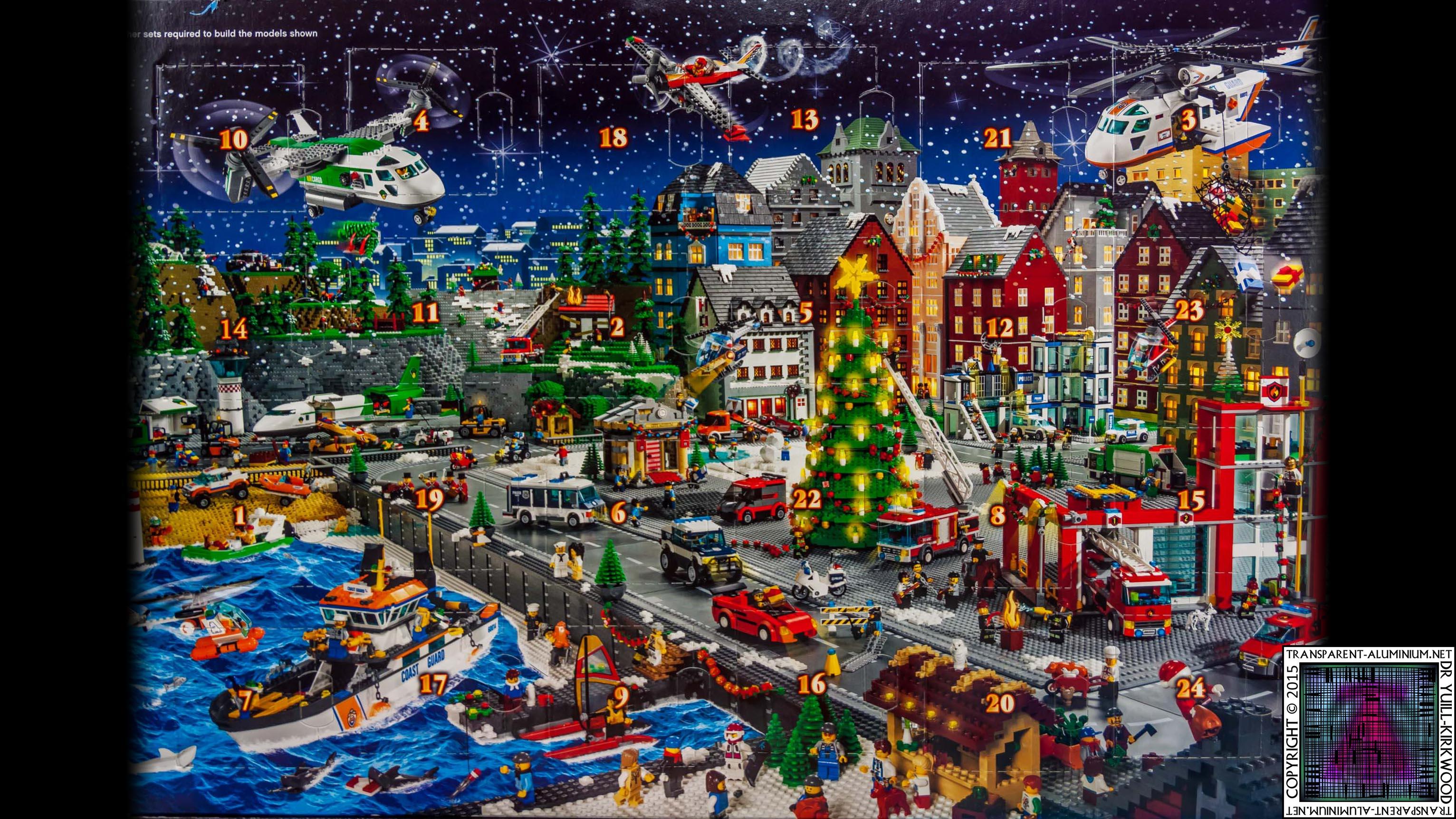 LEGO City Advent Calendar 60024 Box (3)