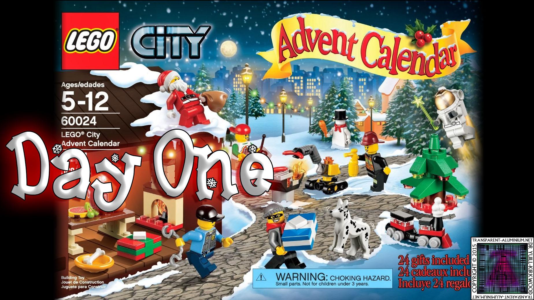 LEGO City Advent Calendar 60024 thumb - Day 01