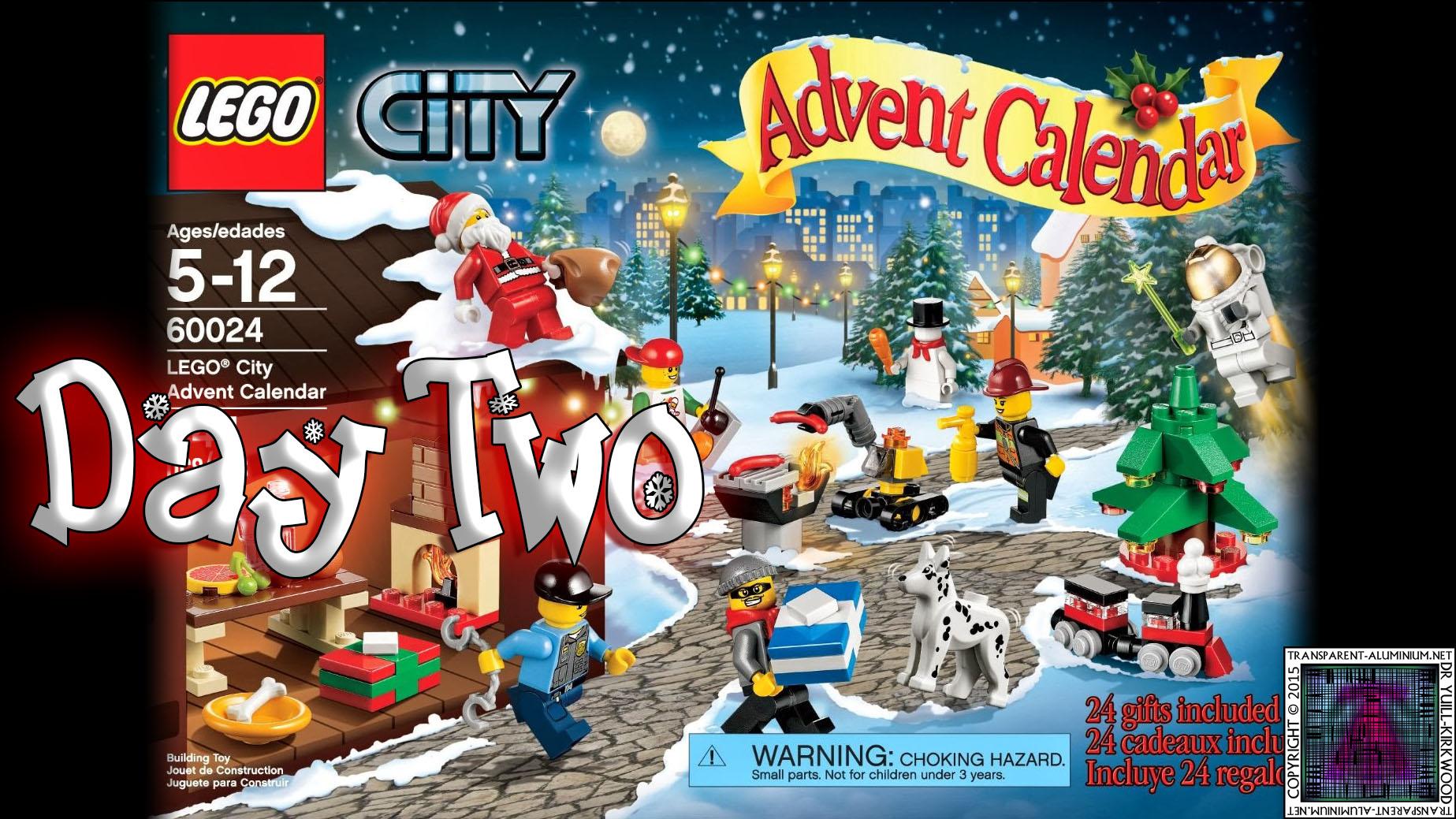 LEGO City Advent Calendar 60024 thumb - Day 02