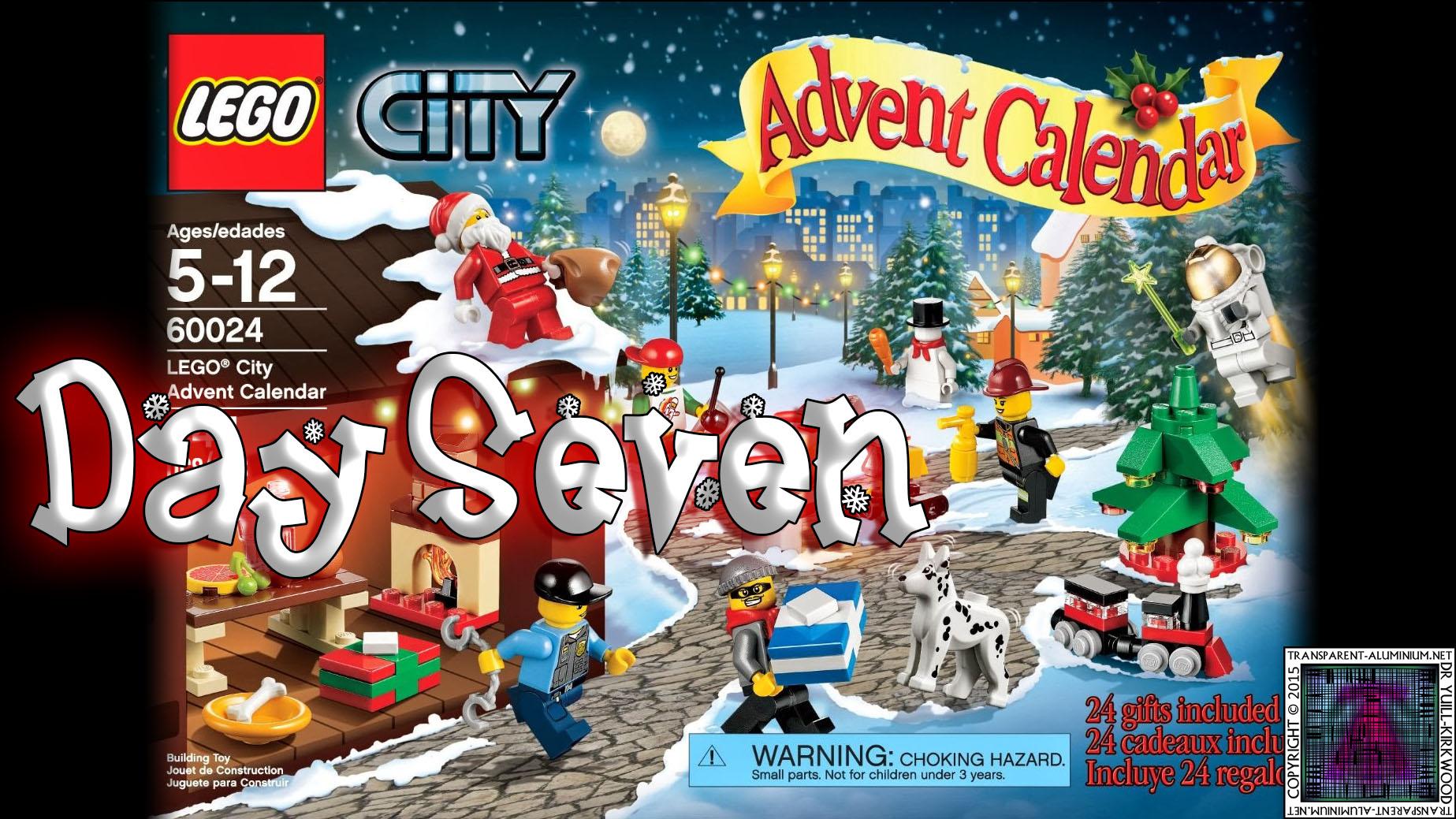 LEGO City Advent Calendar 60024 thumb - Day 07