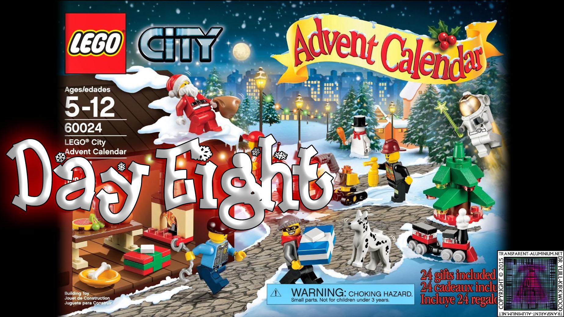 LEGO City Advent Calendar 60024 thumb - Day 08