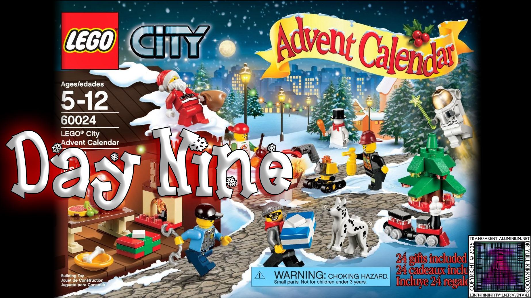 LEGO City Advent Calendar 60024 thumb - Day 09