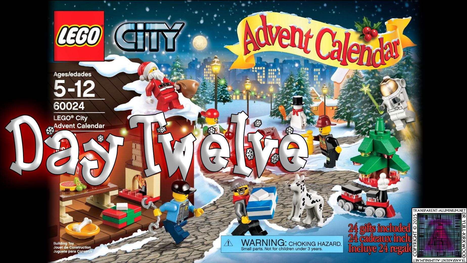 LEGO City Advent Calendar 60024 thumb - Day 12