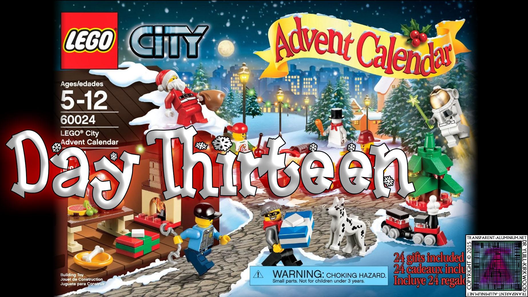 LEGO City Advent Calendar 60024 thumb - Day 13