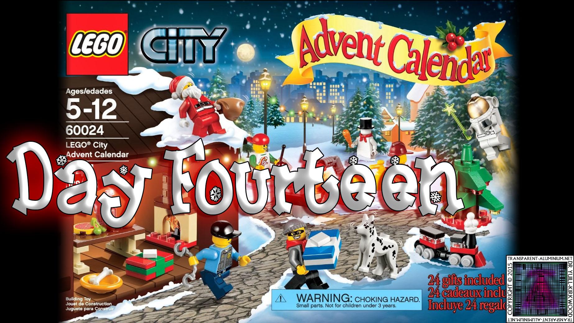 LEGO City Advent Calendar 60024 thumb - Day 14