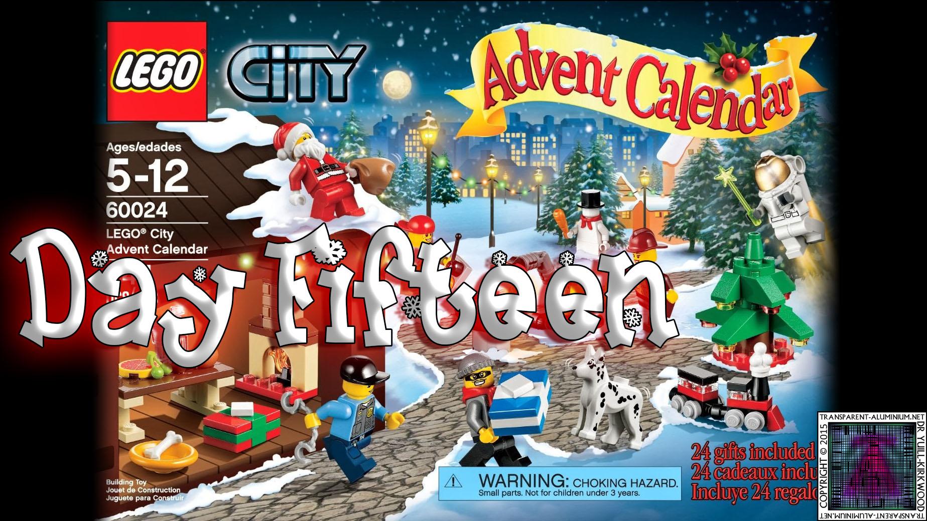 LEGO City Advent Calendar 60024 thumb - Day 15