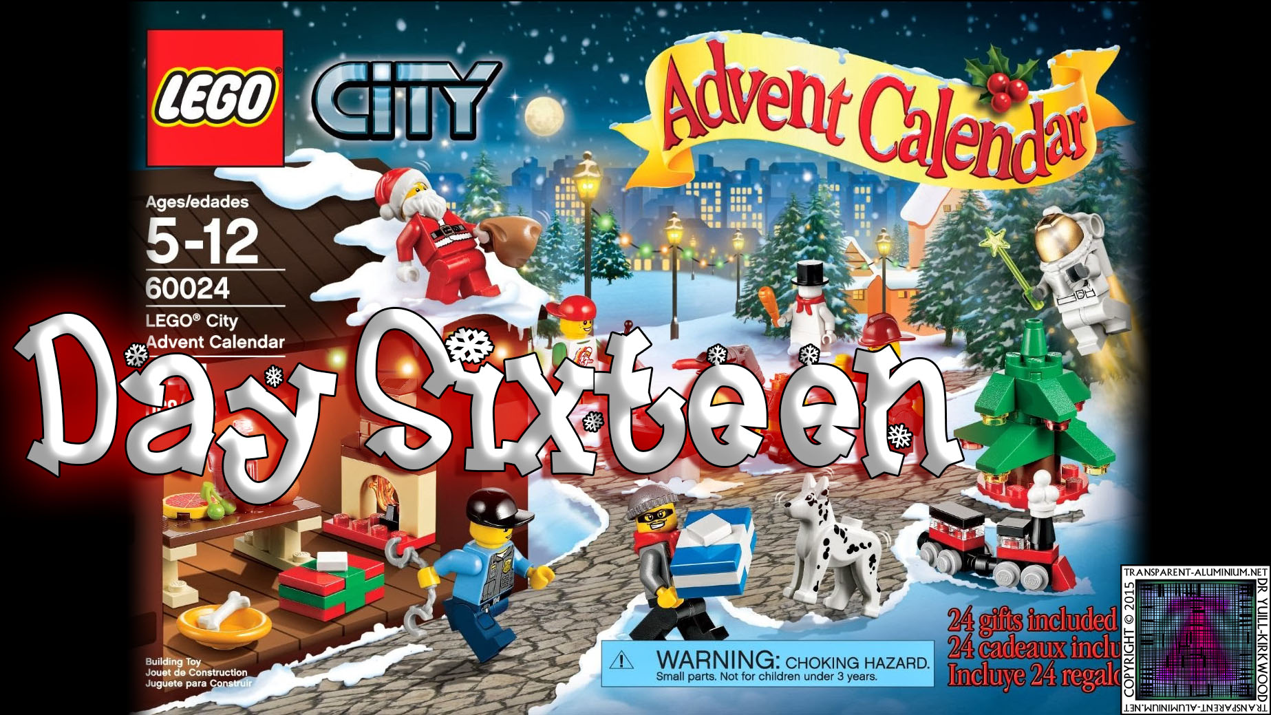 LEGO City Advent Calendar 60024 thumb - Day 16
