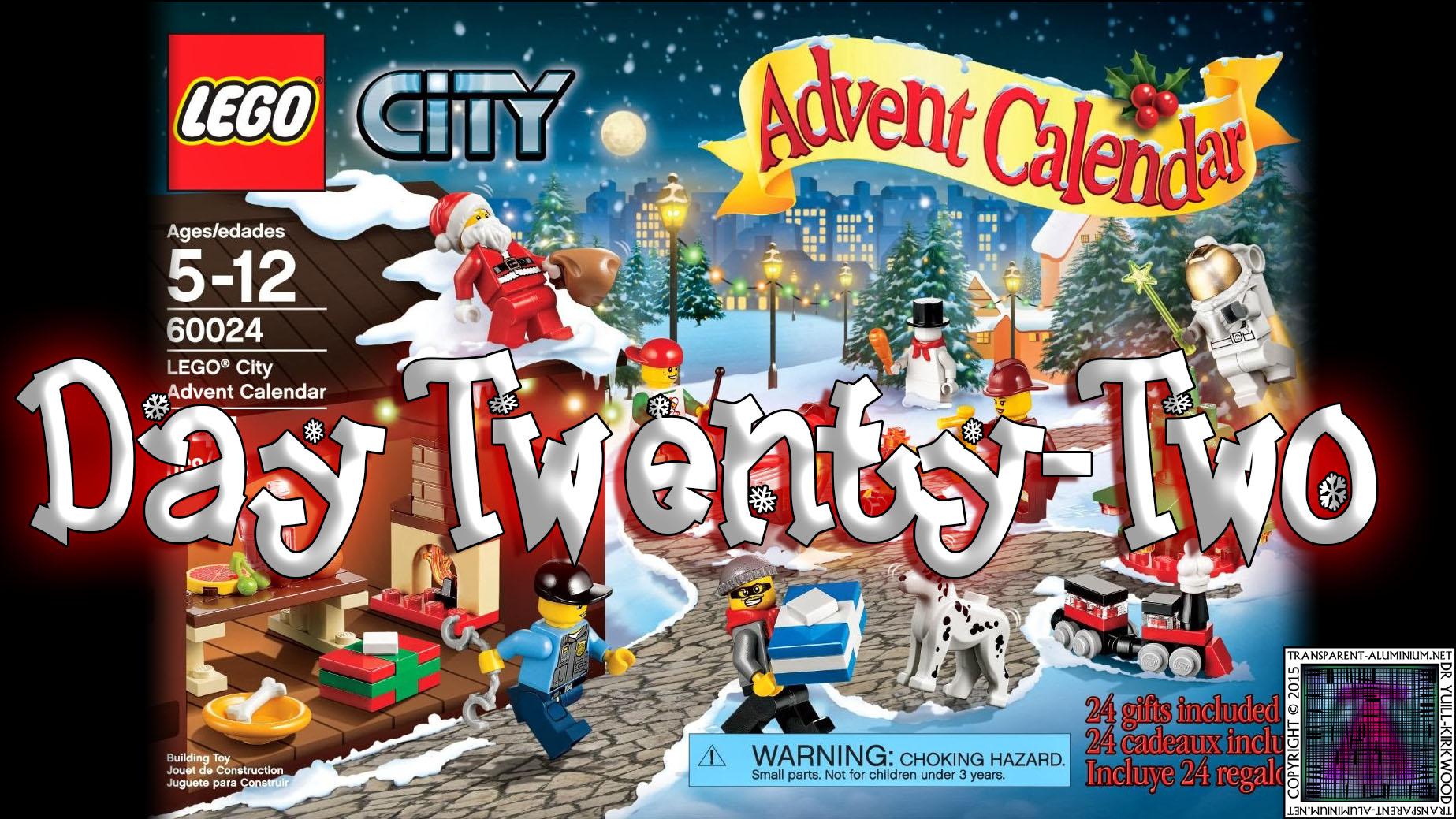 LEGO City Advent Calendar 60024 thumb - Day 22