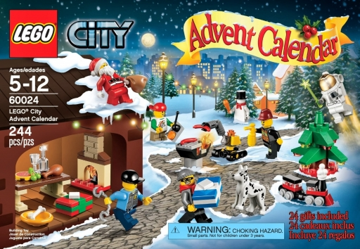 LEGO City Advent Calendar 60024 Box (1)