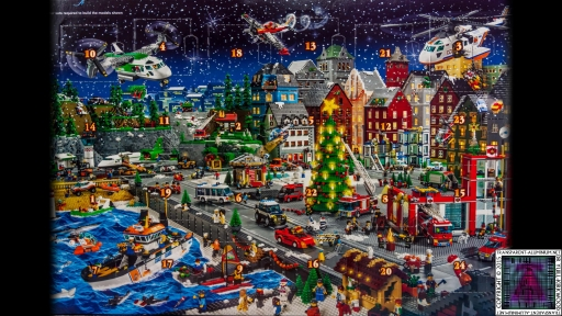 LEGO City Advent Calendar 60024 Box (3)