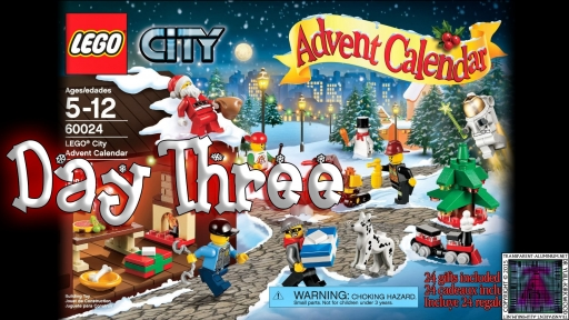 LEGO City Advent Calendar 60024 thumb - Day 03