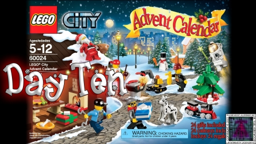 LEGO City Advent Calendar 60024 thumb - Day 10