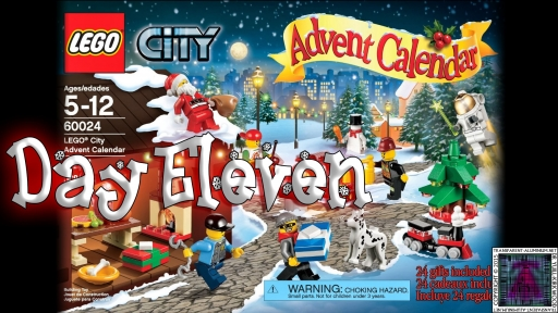 LEGO City Advent Calendar 60024 thumb - Day 11