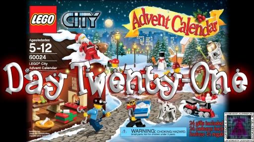 LEGO City Advent Calendar 60024 thumb - Day 21