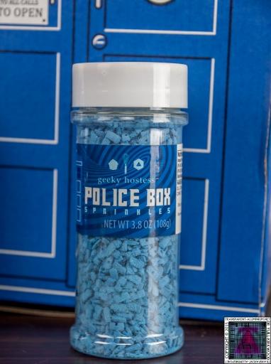 Doctor Who Police Box Sprinkles