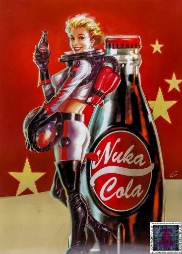 Fallout 4 Nuke Cola Girl Poster.jpg