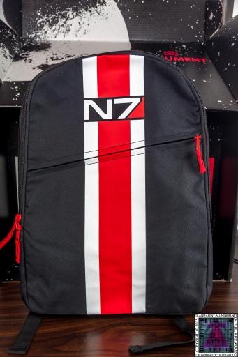 Mass Effect N7 Armor Stripe Backpack
