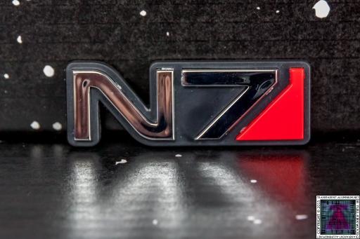 Mass Effect N7 Car Emblem