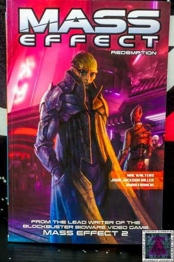 Mass Effect N7 Redemption Comic