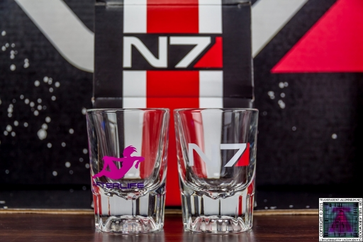 N7 Mass Effect Shot Glass Set