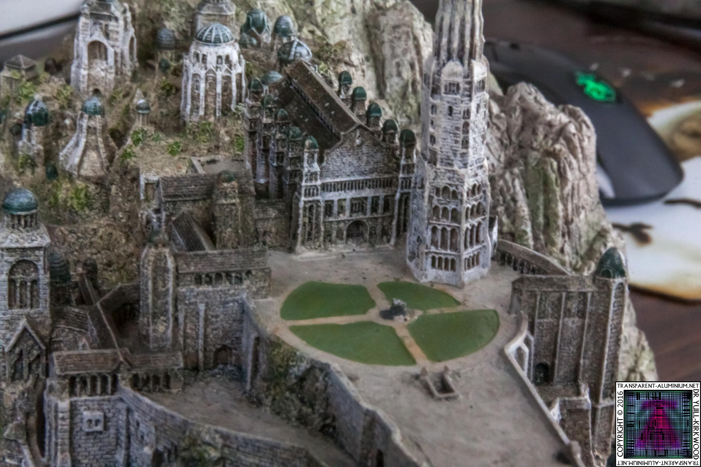 Minas Tirith The Great Citadel Of Gondor Weta (15)