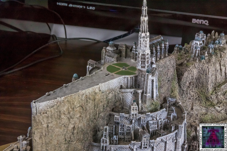 Minas Tirith The Great Citadel Of Gondor Weta (16)