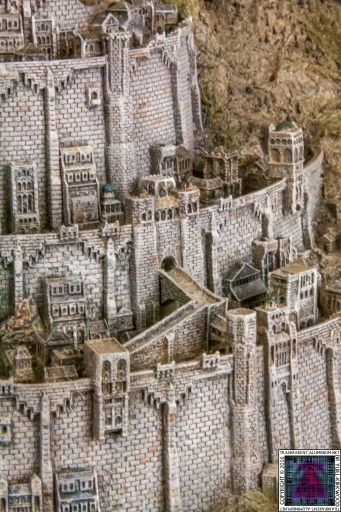 Minas Tirith The Great Citadel Of Gondor Weta (13)