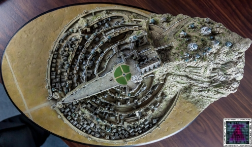 Minas Tirith The Great Citadel Of Gondor Weta (22)
