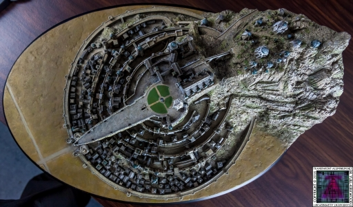 Minas Tirith The Great Citadel Of Gondor Weta (23)