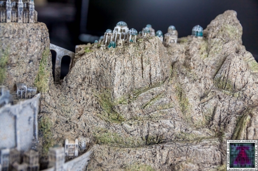 Minas Tirith The Great Citadel Of Gondor Weta (27)