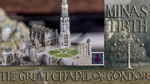Minas Tirith The Great Citadel Of Gondor by Weta